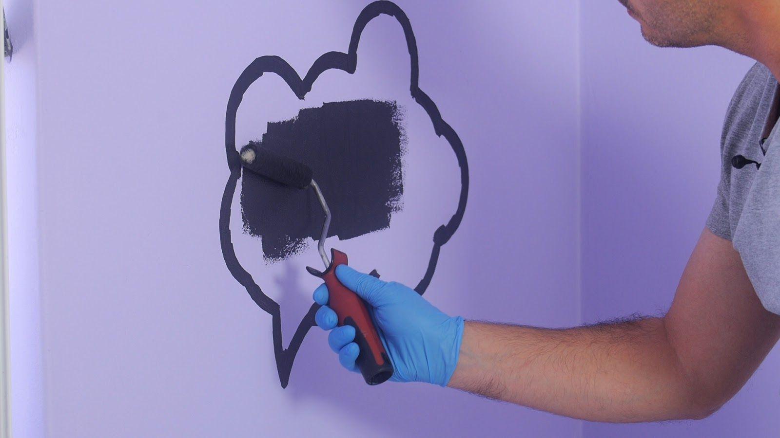 Pintura para habitaciones infantiles con efecto pizarra