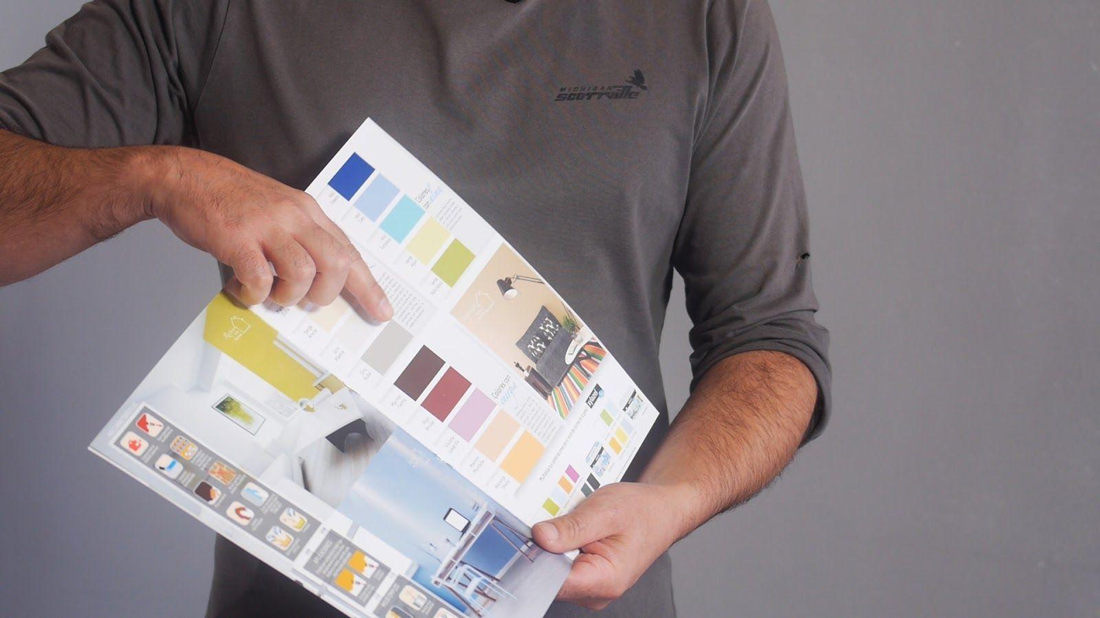 Escoger el color con una tabla de colores