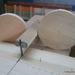 How to make a guide to cut wood circles
