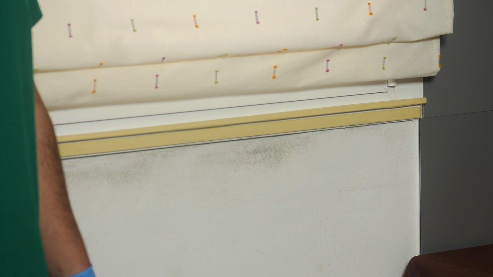 Manchas de moho provocadas por humedad por condensación