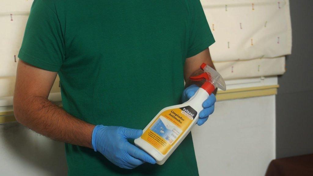Cómo eliminar mancha de moho