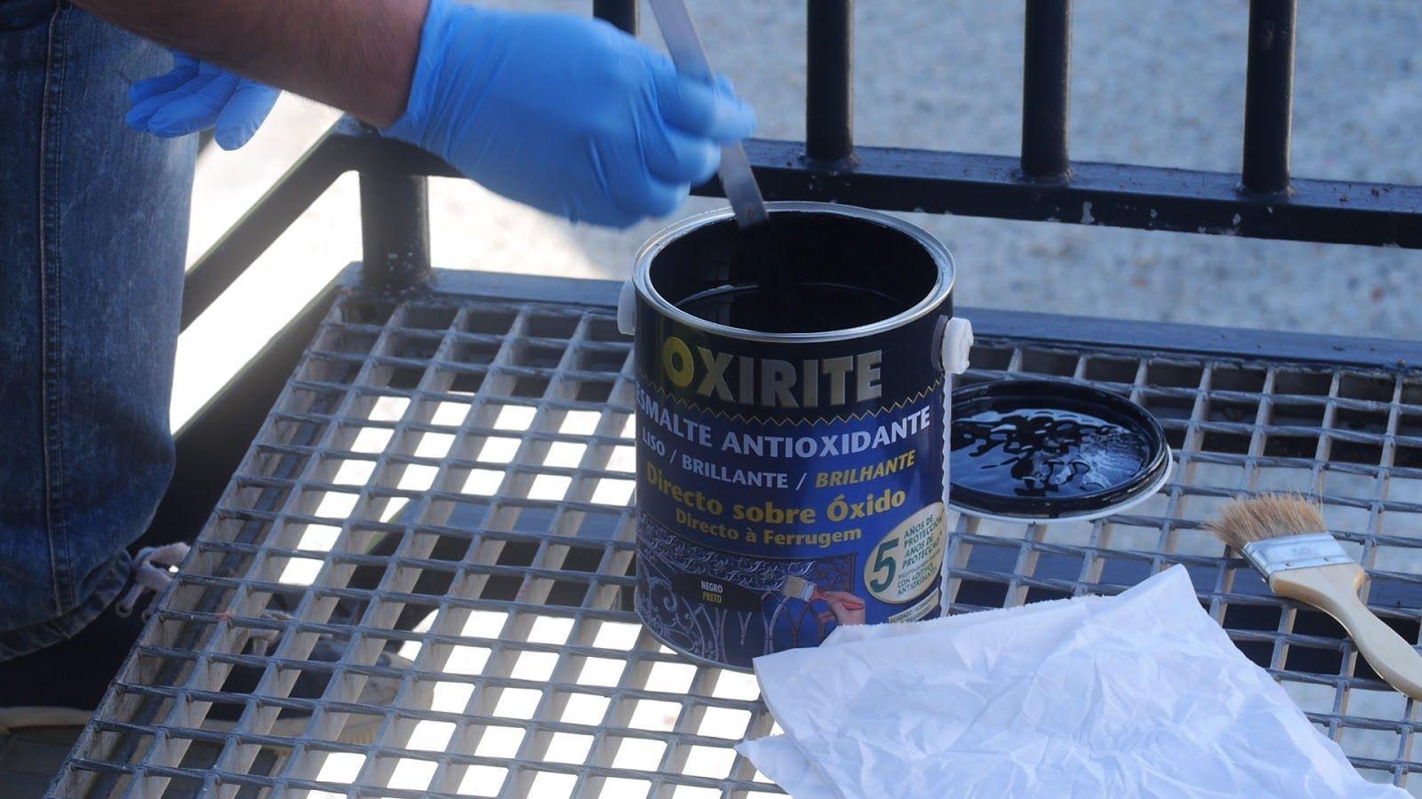 Remover la pintura antigoteo correctamente