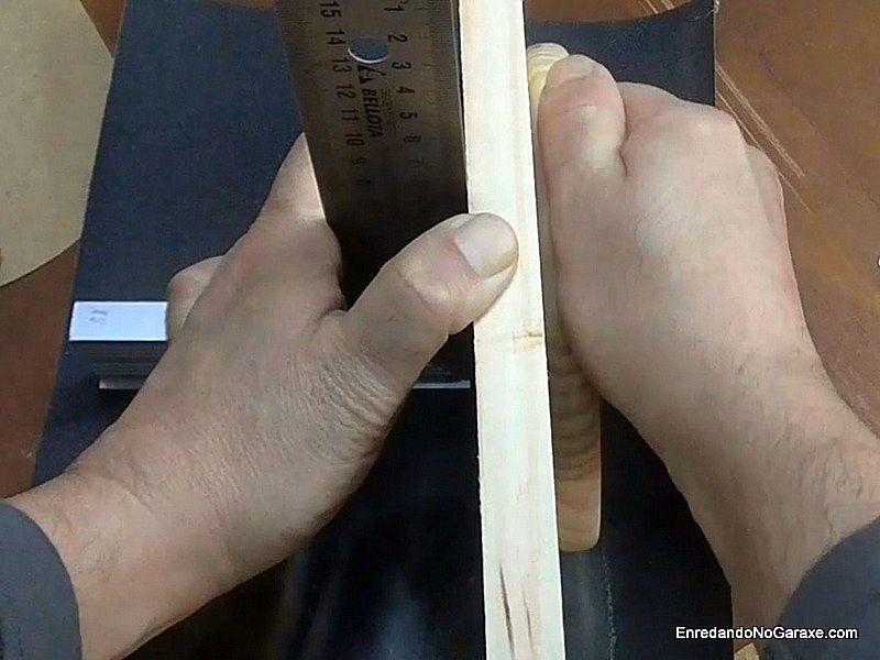 Guía fácil para lijar a 90 grados los cortes
