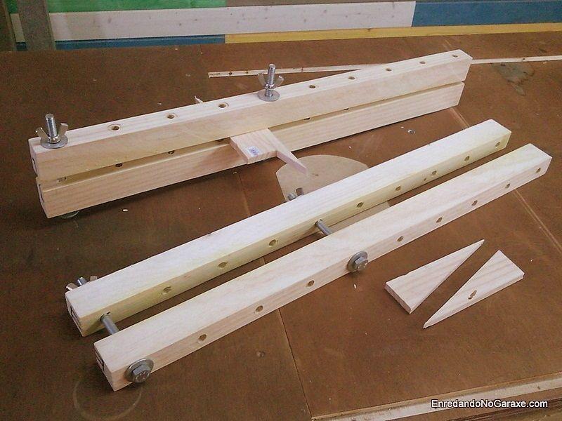 Cómo hacer sargentos largos para madera