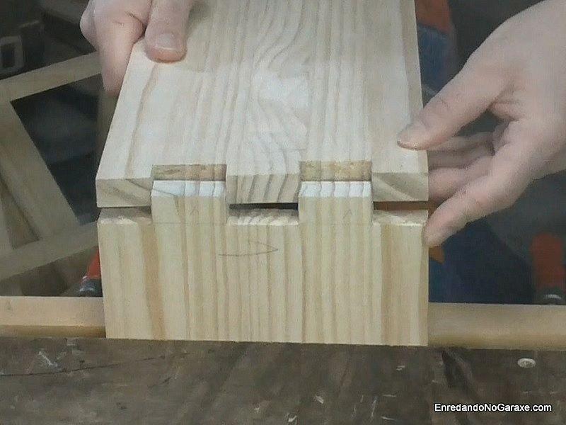Cómo cortar uniones de lazos rectos o dedos
