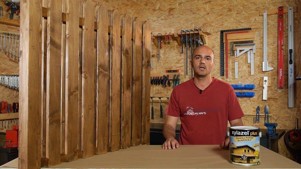 proteger madera de exterior