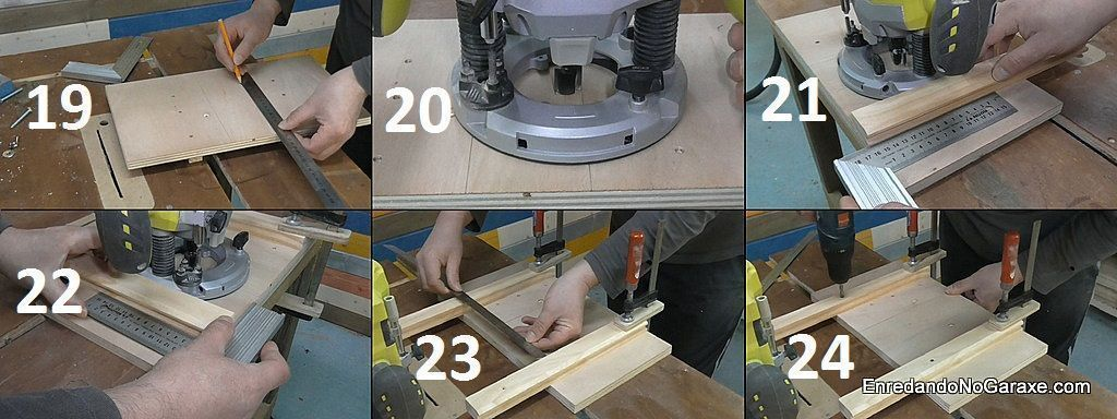 Cómo hacer guía para fresar un rebajo con la fresadora