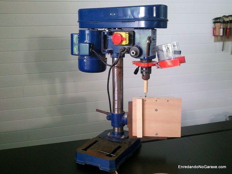 Mesa para taladrar vertical en el taladro de columna