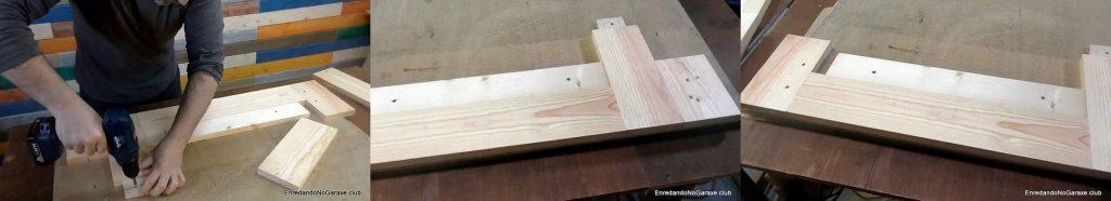 Guía para fresar machimbre, tablas y topes