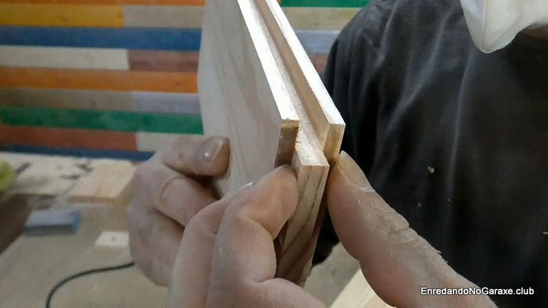Hacer uniones machihembradas de ranura y lengüeta