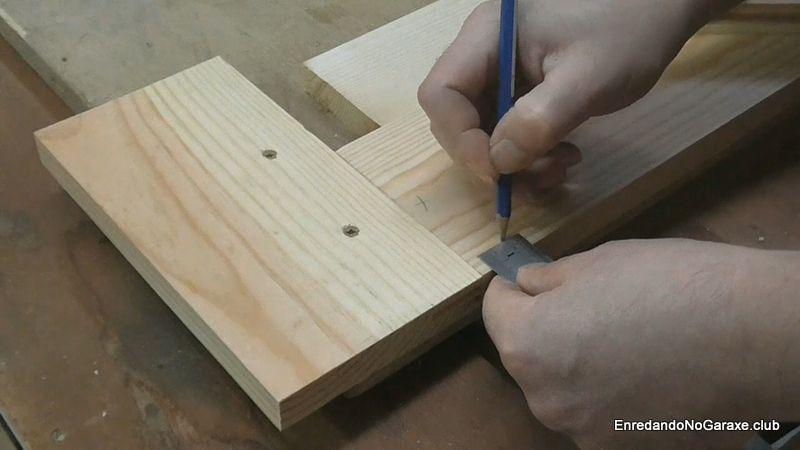 Marcar la profundidad de la ranura