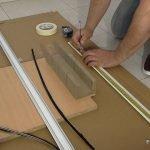 Cómo cortar un perfil de aluminio en casa