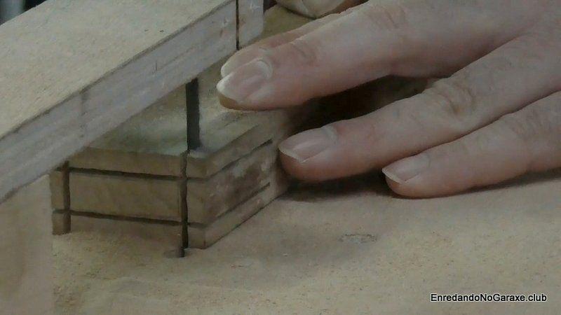 Cortar todas las líneas del perfil de la espiga