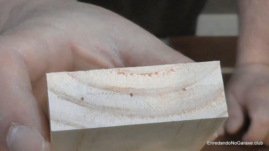 Marcas para taladrar la cabeza del listón