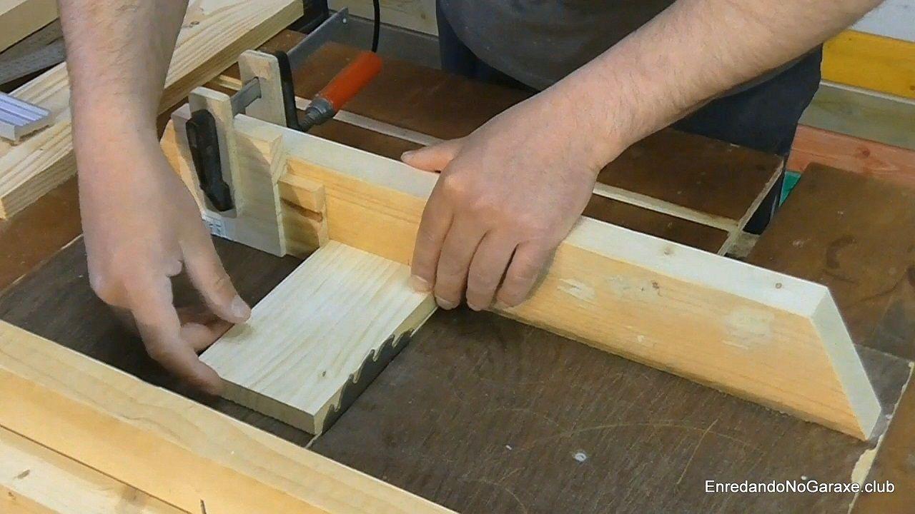 Tope para cortar piezas iguales