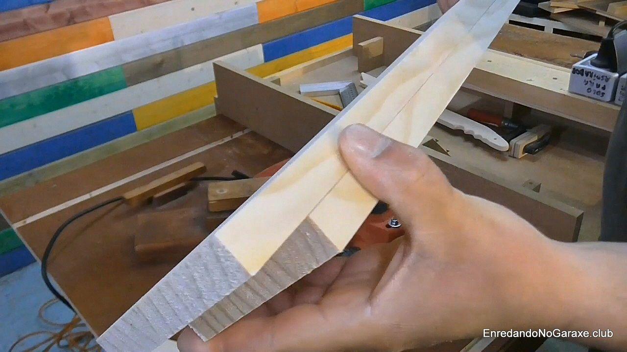 Conseguir cortar piezas del mismo ancho