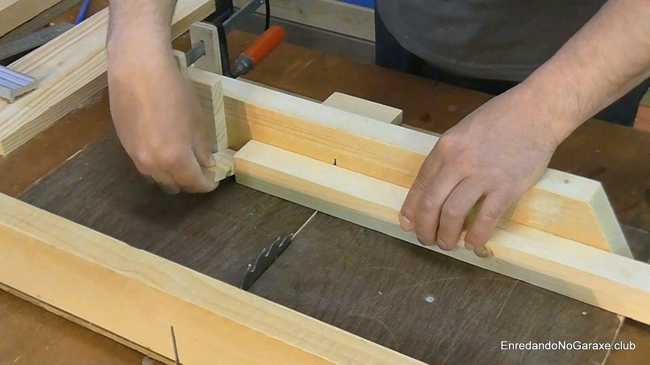 Tope de quitar y poner para cortar a la medida exacta