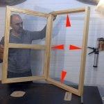 Cómo hacer marco de ventana de madera