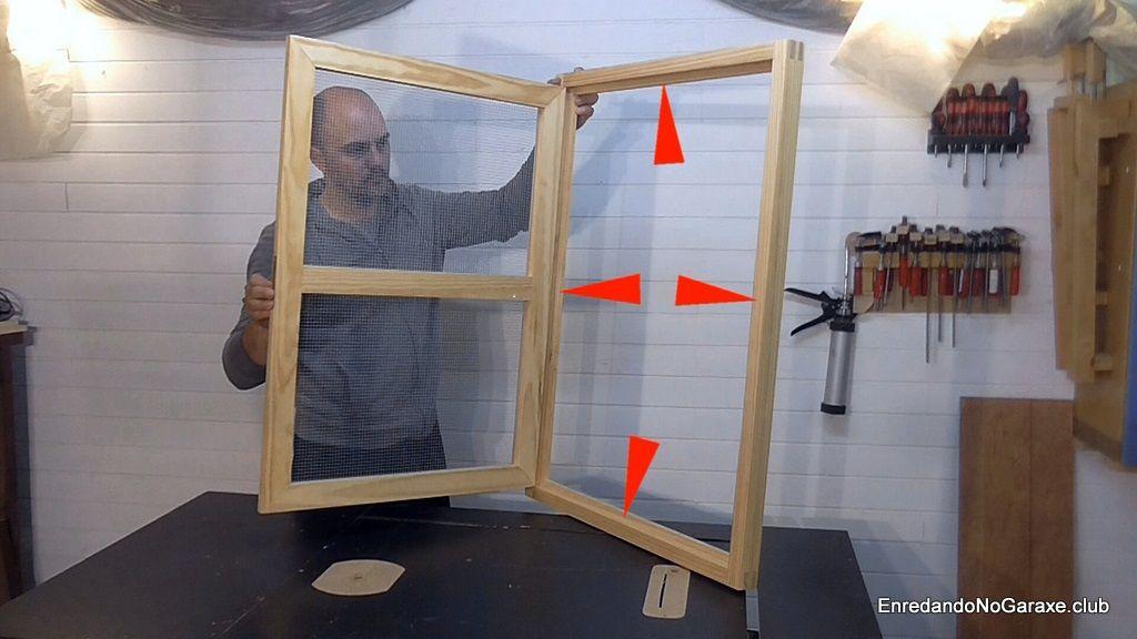 Cómo hacer marco para ventana de madera