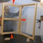 Hacer ventanas de madera fácil