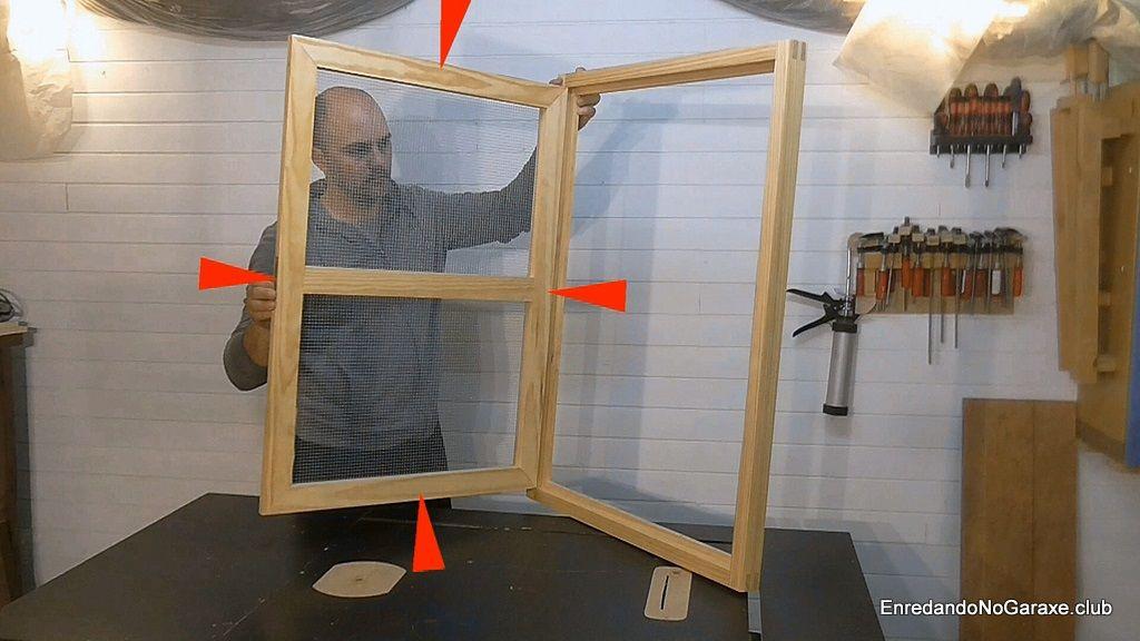 Cómo hacer ventanas de madera sencillas