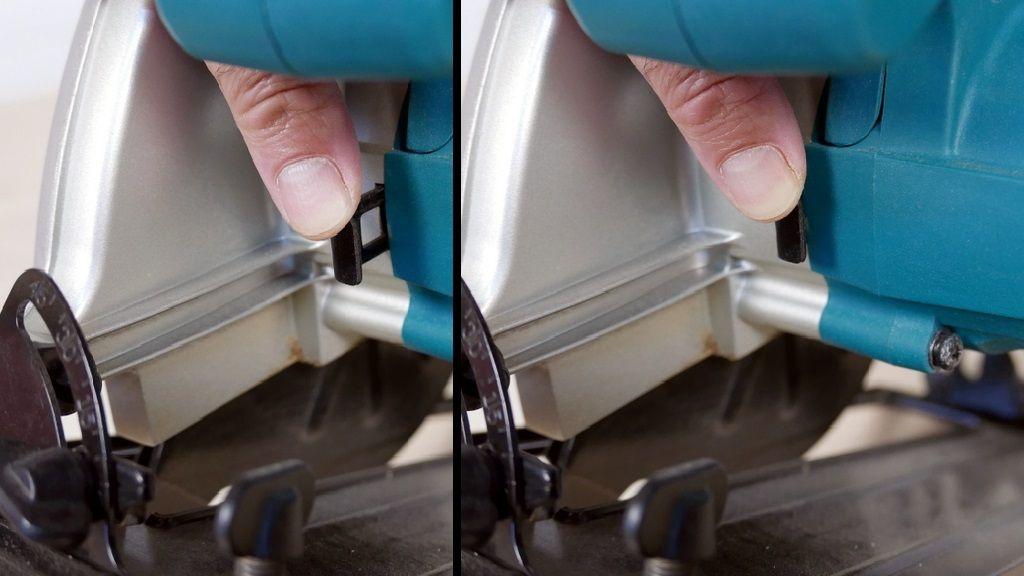 Cómo cambiar el disco de corte de la sierra circular