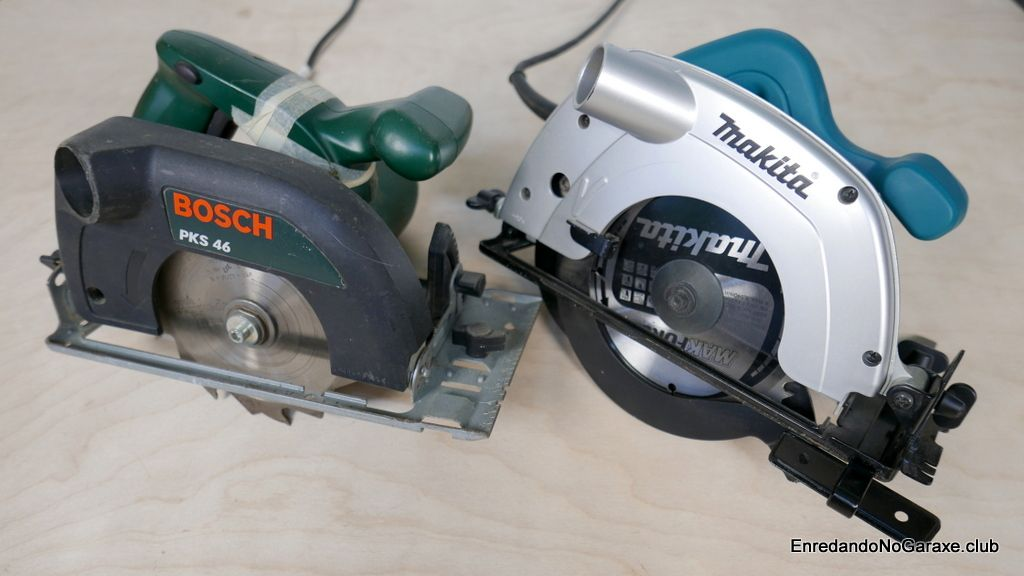 Circular hand saw for wood