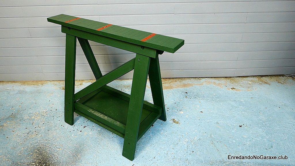 Cómo reforzar un caballete de madera