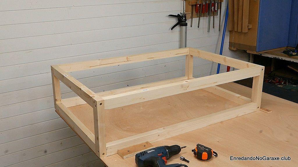 Estructura o armazón de madera
