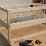 Hacer estructura con tornillos para madera