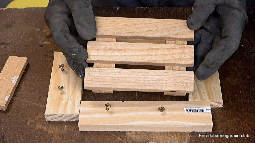 Plantilla para hacer los laterales de la caja de madera