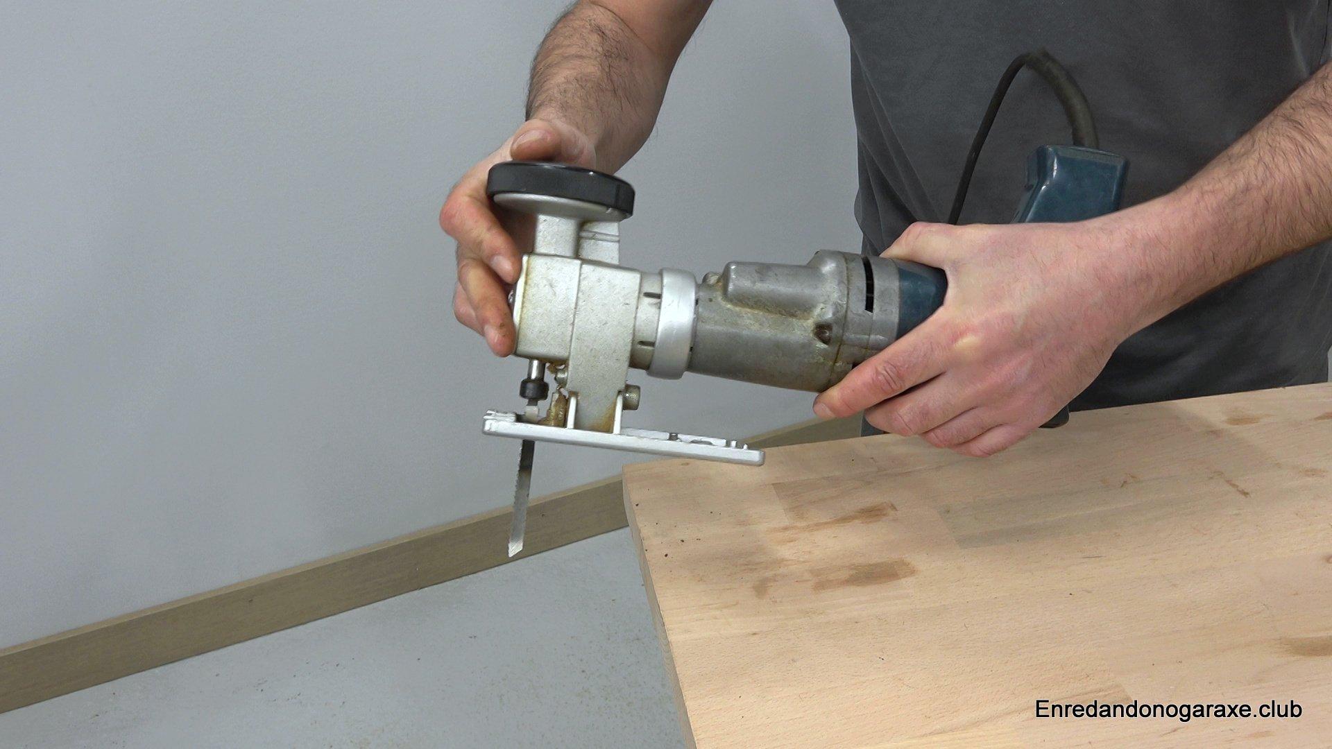 accesorio de sierra de calar para taladro