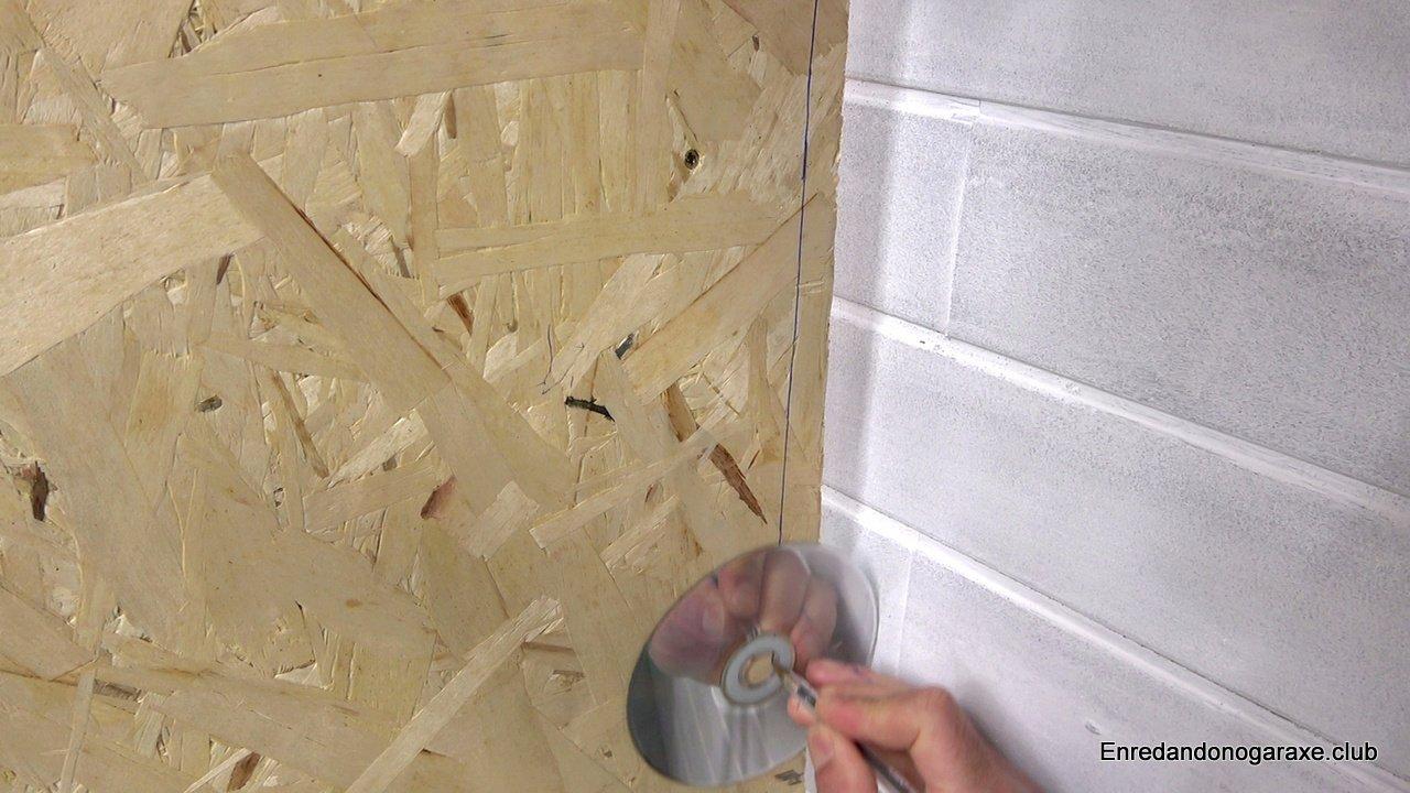 cómo copiar la forma de la pared
