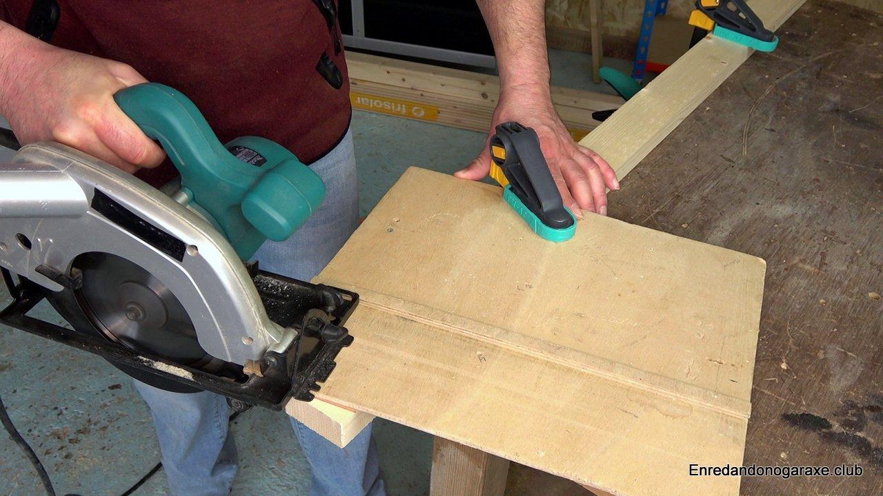 cortar a inglete con la sierra circular