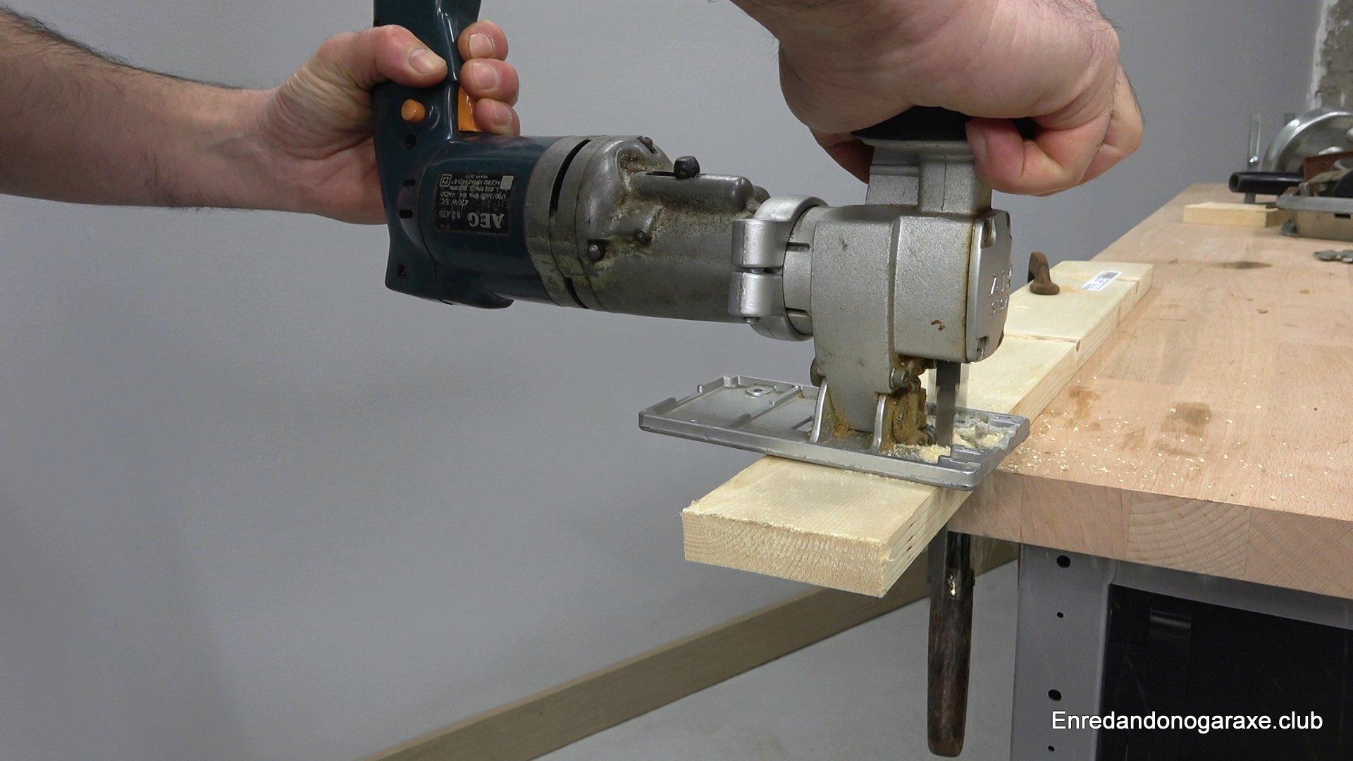 herramienta caladora para taladro