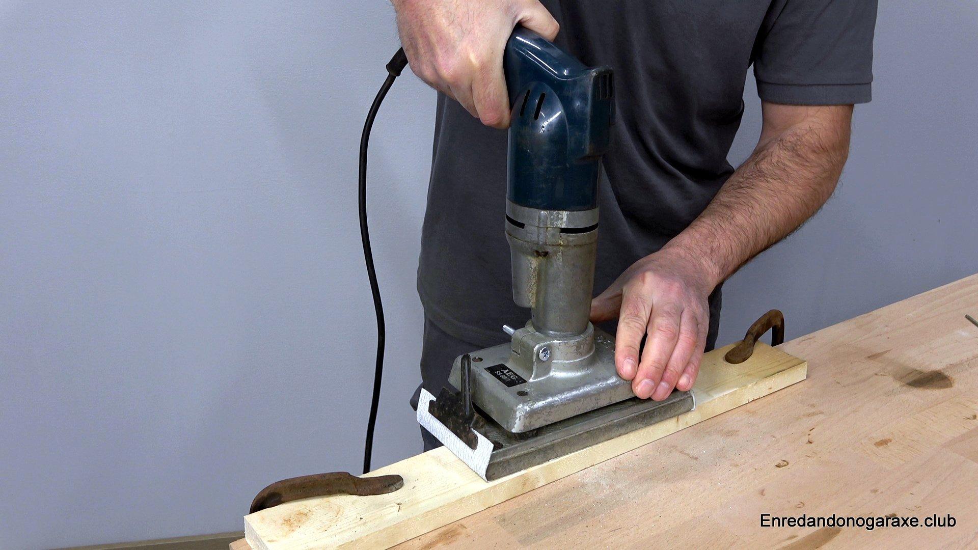 lijadora orbital para madera