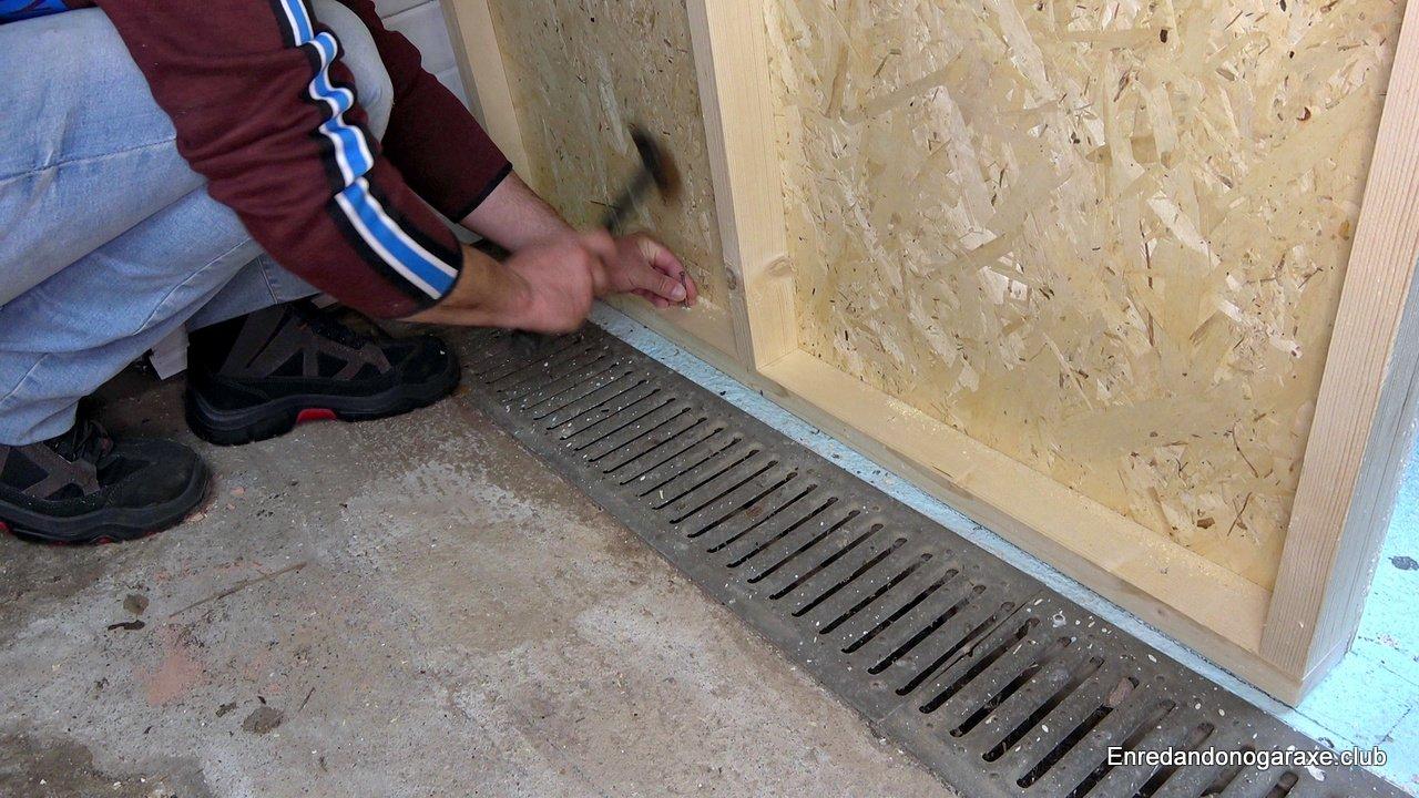 marcar donde taladrar el suelo