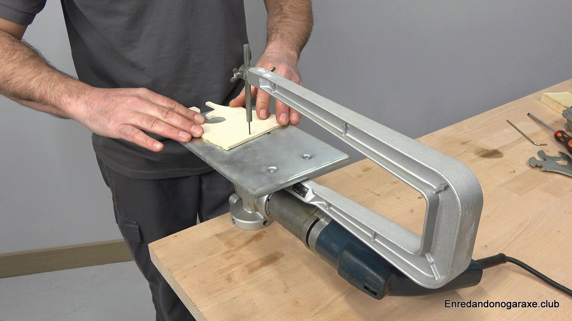 sierra de marquetería para cortar madera de contrachapado