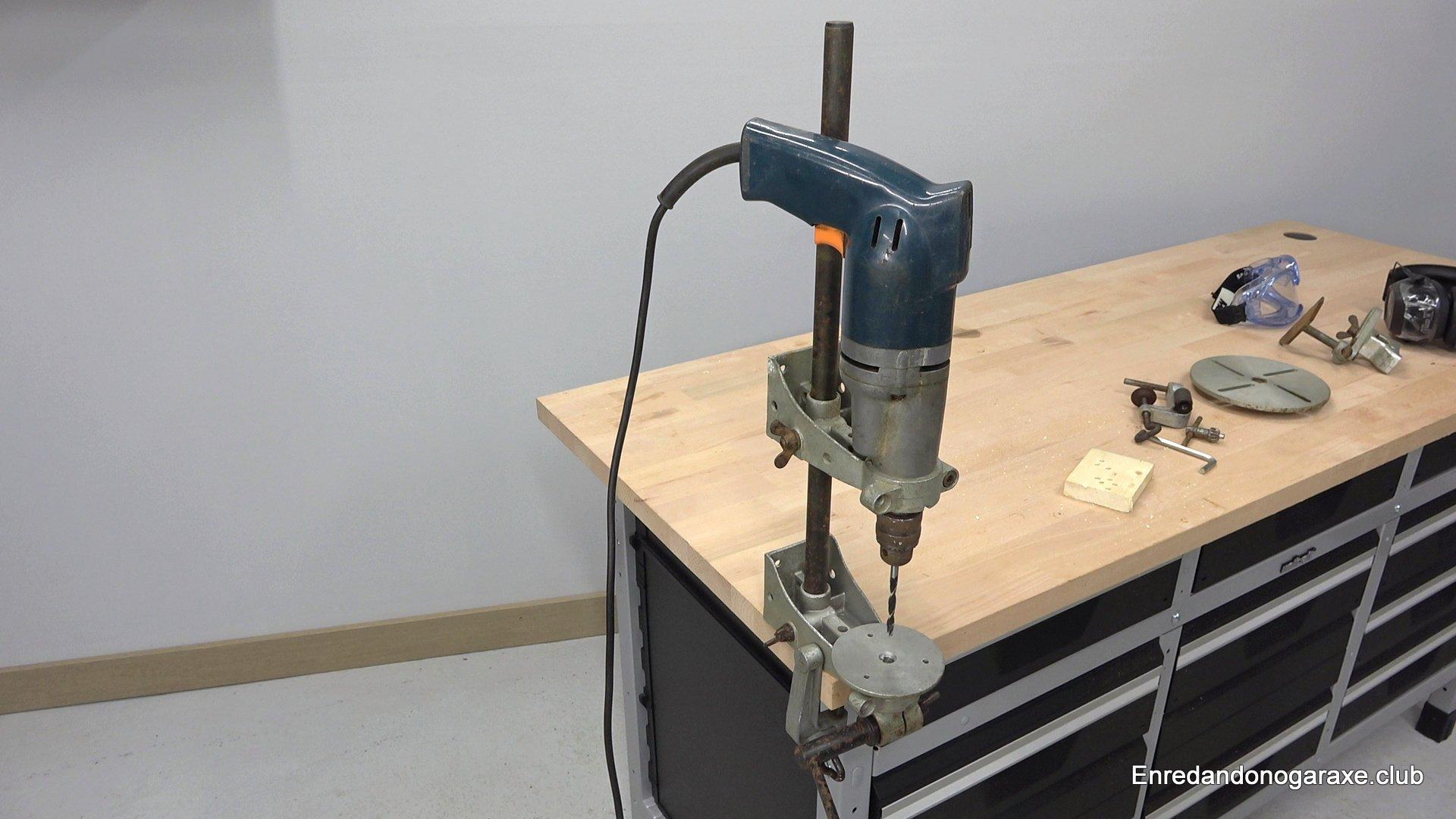 soporte para taladro de columna