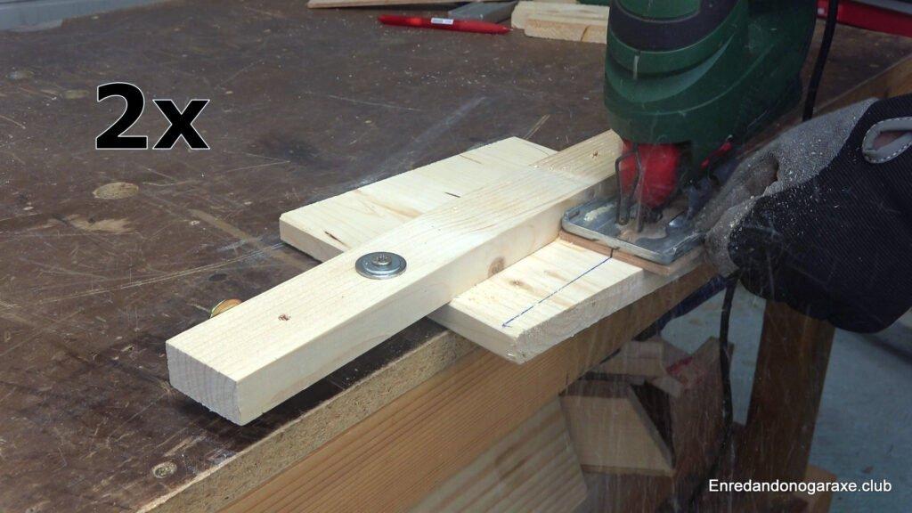 cortar madera con precisión con la sierra de calar