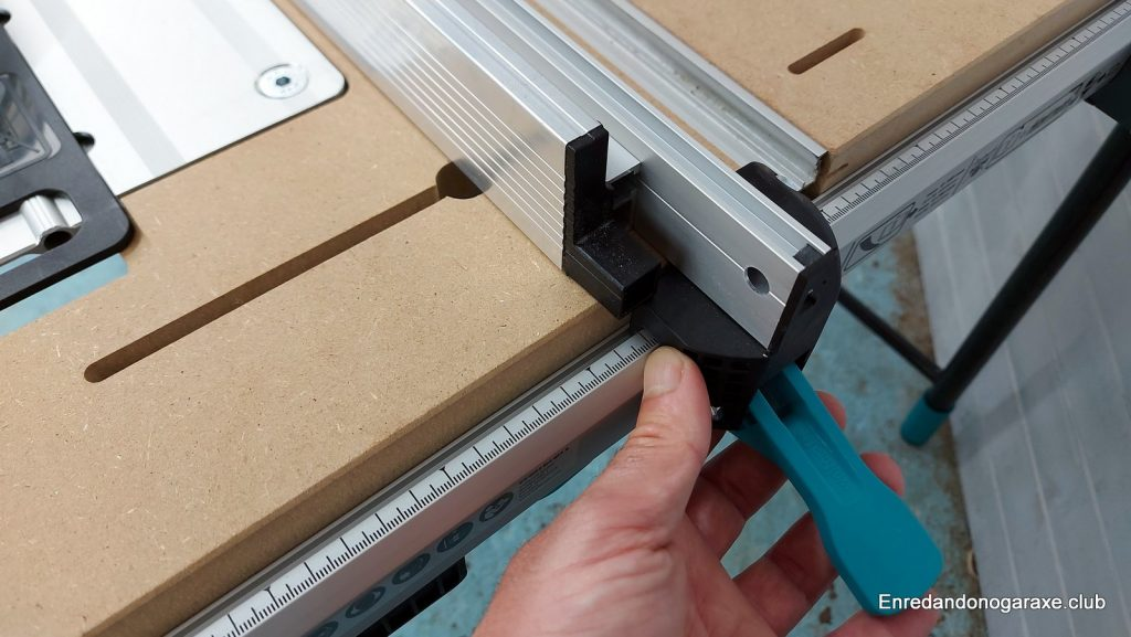 guía lateral para sierra de mesa mastercut 2600