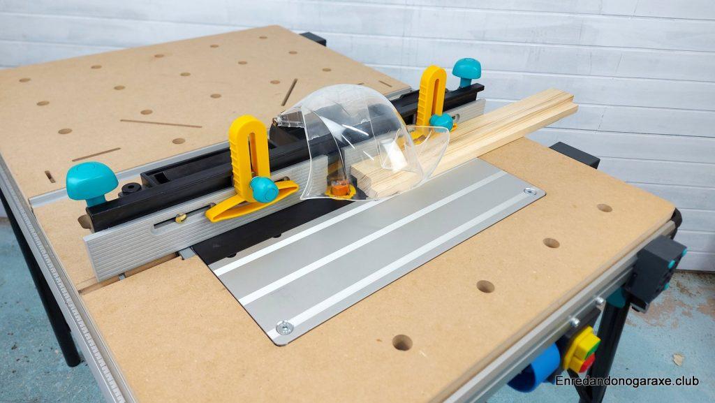 mastercut 2600 como mesa fresadora para madera