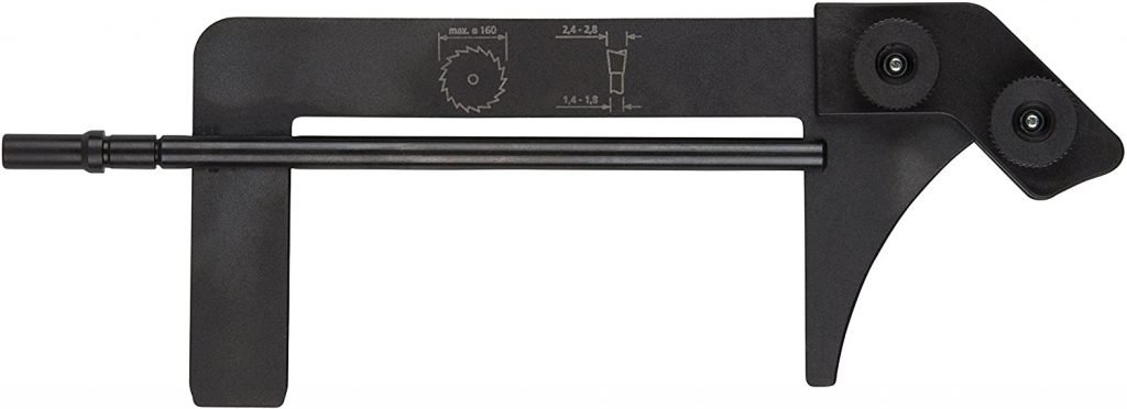 Cuchillo separador 160mm para sierra de mesa wolfcraft